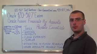 1Z0-507 – Oracle Exam Accounts Payable Test Essentials Questions
