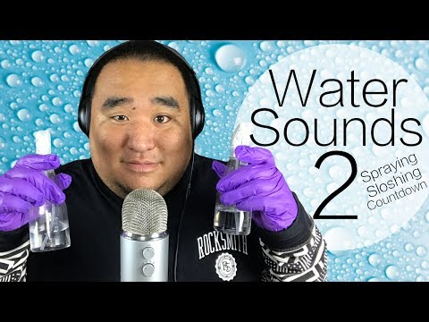 [ASMR] Ear to Ear - Water Sounds 2 (w/Countdown) | MattyTingles