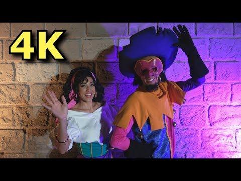 Esmeralda and Clopin in RARE Meet & Greet - Hunchback of Notre Dame Characters - Walt Disney World