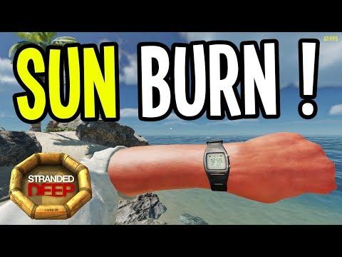 SUN BURN, SUN STROKE and ALOE SUNBLOCK!! - Stranded Deep Gameplay Playthrough - Episode 6