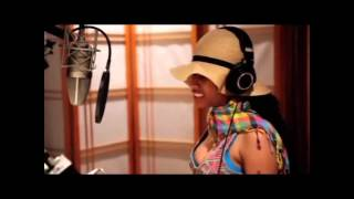 Repeat youtube video Nicki Minaj Recording Roman's Revenge