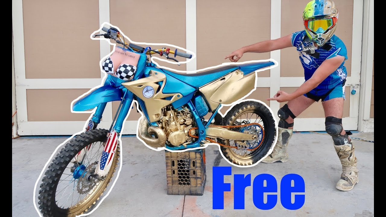 DIRTBIKE GIVEAWAY!!! ( THE JM250)