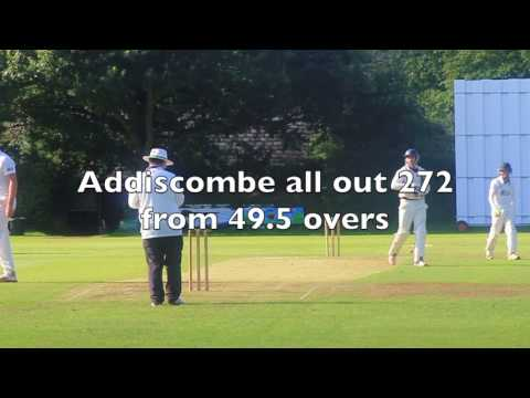 Amazing club cricket match: Sanderstead Cricket Club & Addiscombe CC