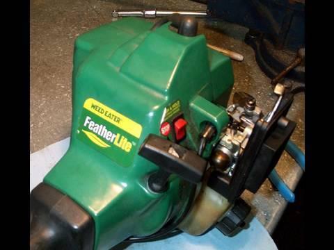 Weed Eater Repair >> Weedeater Carburetor Rebuild & Fuel Line Repair Part 2 of ...