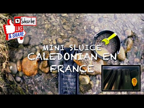 mini sluice caledonian test france 2018 un rêve