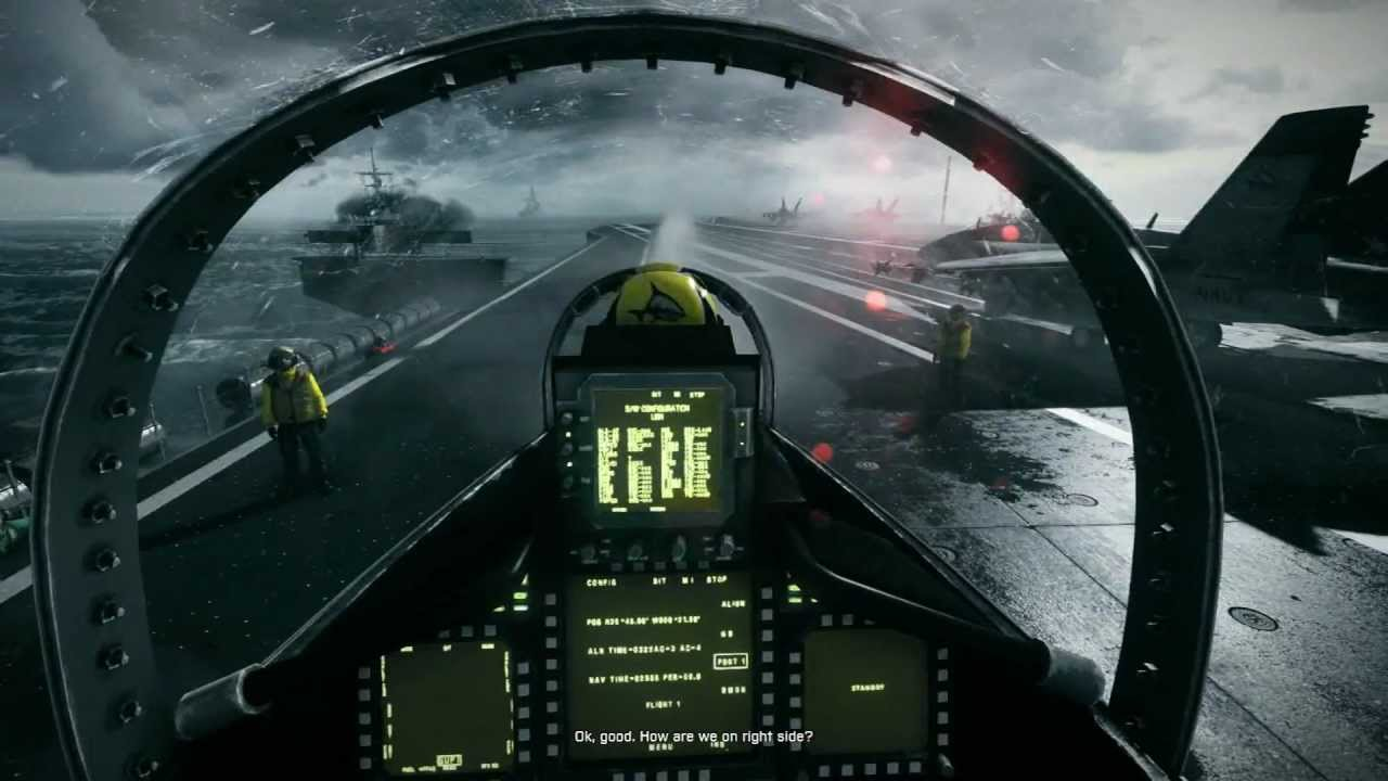Battlefield 3 f 18 hornet mission full hd youtube voltagebd Images