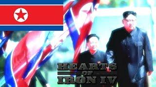 JE SUIS LA CORÉE DU NORD ! (Hearts Of Iron IV | HOI 4 FR) #1