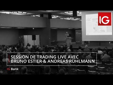 Swiss Trading Day : session de trading live avec Bruno Estier & Andreas Ruhlmann