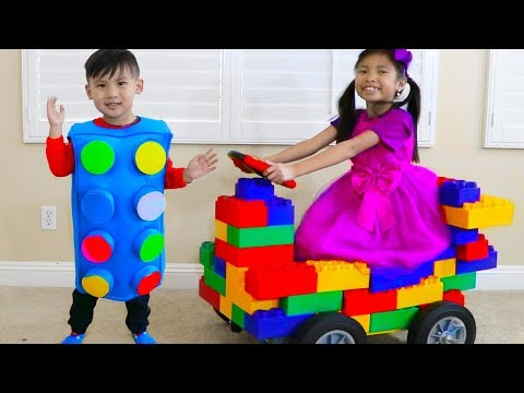 Wendy Pretend Play Transform Blocks to Toy Car & Fun Kids Toys