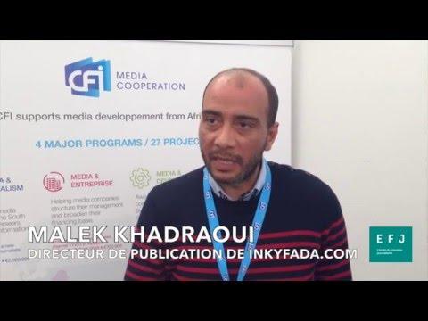 Interview Malek Khadraoui - Directeur de publication Inkyfada #4MParis