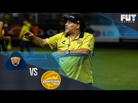 aea5fc73d Copa MX: Maradona regresa a CU; Pumas vs Dorados - YouTube