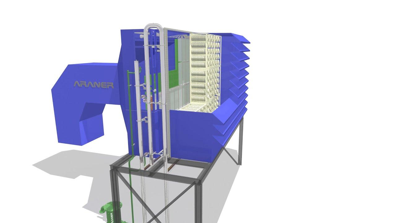 TIAC Turbine Inlet Air Cooling ARANER