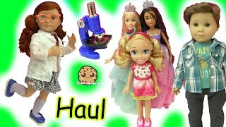Doll Haul - Boy American Girl + Large Princess Barbie Dolls + Surprise Blind Bags