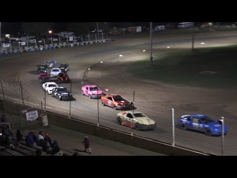 Flinn Stock Feature at Crystal Motor Speedway, Michigan on 09-01-2019!