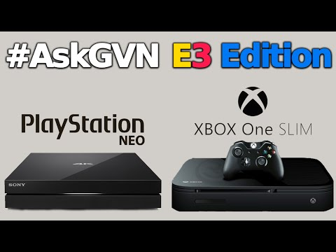 PlayStation Neo and Xbox Scorpio - Ask GVN