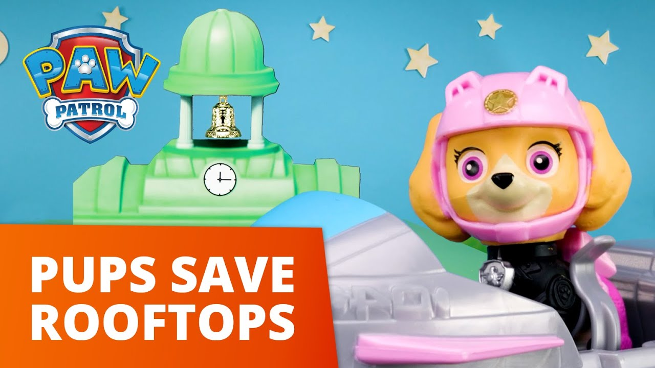 Download PAW Patrol Moto Pups - Pups Save The Rooftop - Toy Episode - PAW Patrol Official & Friends