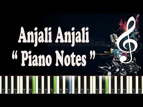 (AR Rahman) Anjali Anjali Pushpanjali - Midi - Music Notes - Piano