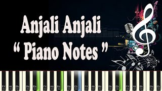 (AR Rahman) Anjali Anjali Pushpanjali - Midi - Music Notes - Piano