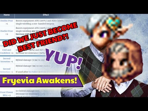 [FFBE] Final Fantasy Brave Exvius - Fryevia Ability Awakenings Overview