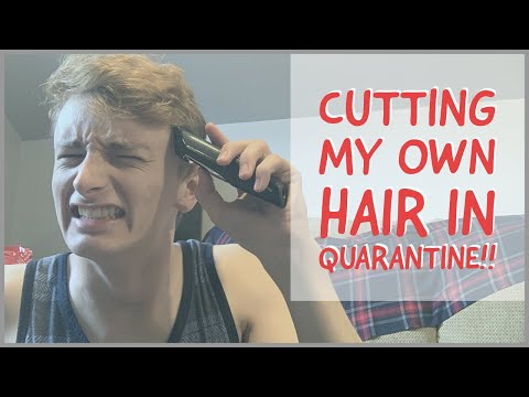 Shaving & Cutting my OWN Hair During Quarantine!! 💇🏼♂️😅 from YouTube · Duration:  4 minutes 31 seconds