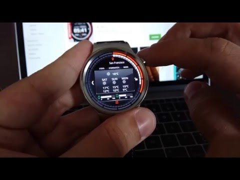 how to install watch face on wear 2