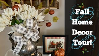 Home Tour: My Fall Decor! See How to Decorate with Thrift Store Finds! Vintage Cottage/Farmhouse