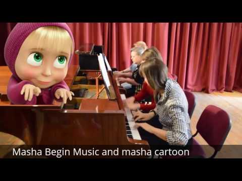 Masha and The Bear music and cartoon