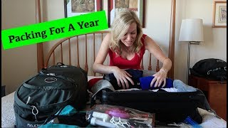Packing for a Year of Travel (final decisions!)