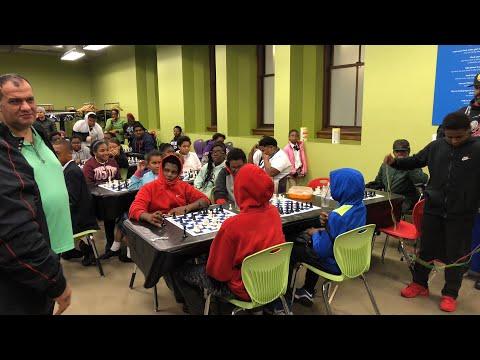Detroit Institute of Arts - Detroit City Chess a Club - surprise party