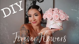 Making My Mom's Mother's Day Gift! DIY Forever Flowers Tutorial