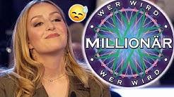 Wer wird Millionär: YOUTUBERIN VERSAGT!