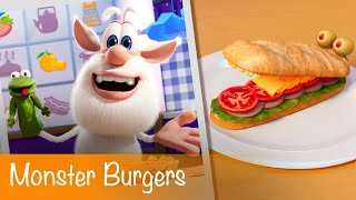 Booba - Food Puzzle: Monster Burgers - Episode 2 - Cartoon for kids