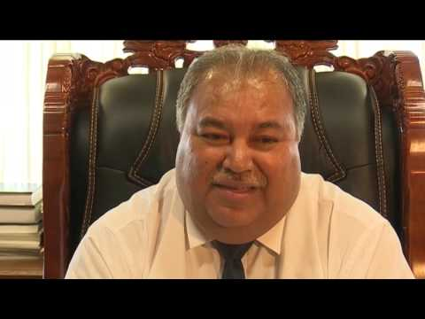 President Baron Waqa welcomes election observers