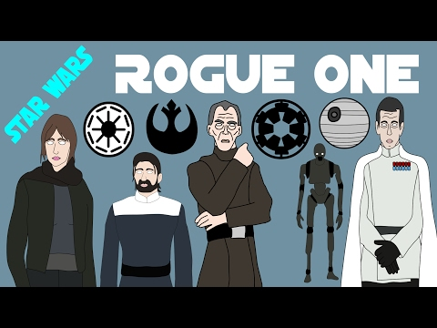Star Wars Canon - Rogue One (Complete - Spoilers!)