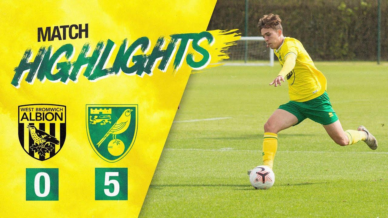 HIGHLIGHTS | West Brom U18s 0-5 Norwich City U18s