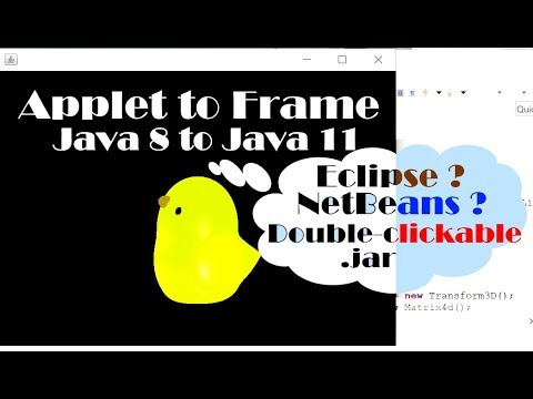 java-3d:-how-to-change-an-applet-extending-class-to-prepare-for-java-11-(with-source-code)