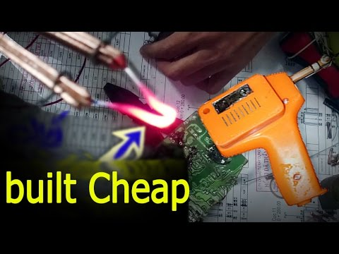 homemade soldefing gun how to make a soldering iron at home youtube. Black Bedroom Furniture Sets. Home Design Ideas