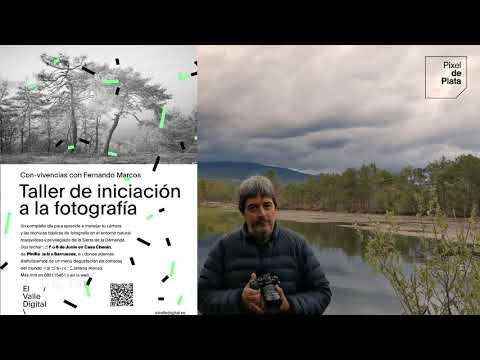 El fotógrafo de Palacios de la Sierra Fernando Marcos impartirá un taller de iniciación a la fotografía  en la Casa rural Chanín en Pinilla de los Barruecos el 5 o el 6 de junio