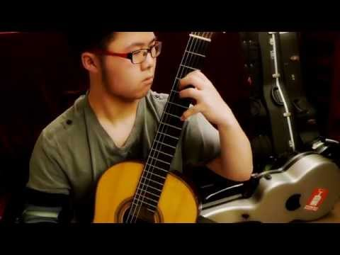 Classical Guitar - Double-stop Chromatic Scale in Octaves