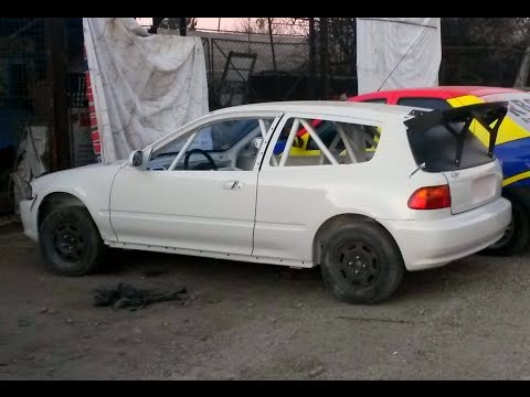 Honda Civic Eg Time Attack Hillclimb Project - Build steps - Because RaceCar Underconstruction 2