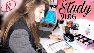 Study Vlog + Rotina de uma estudante de direito | como eu estudo em casa