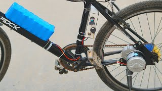 How To Make Electric Bike Using 250w Gear Motor