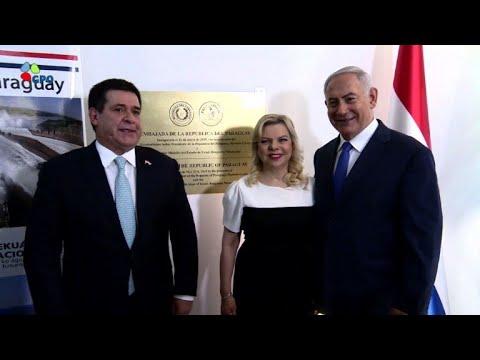 رئيس باراغواي يفتتح سفارة بلاده لدى اسرائيل في مدينة القدس