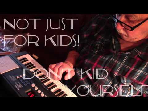 A music keyboard not just for kids!