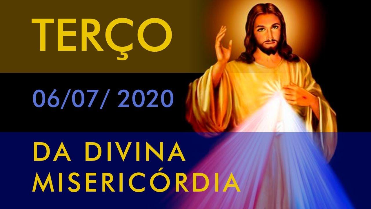 TERÇO DA DIVINA MISERICÓRDIA - FREI LUÍS MARIN - 06 DE JULHO DE 2020