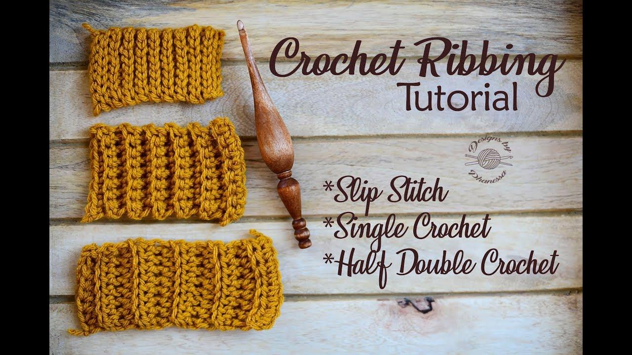 Crocheting Ribbing