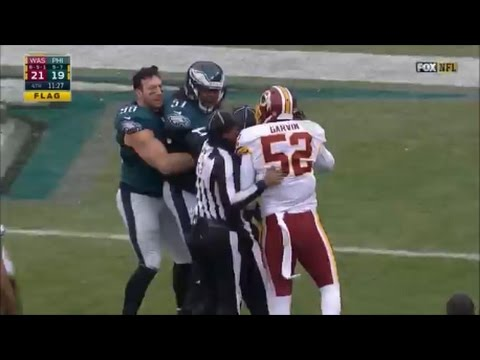 Best NFL Fights of the Season 2016-17