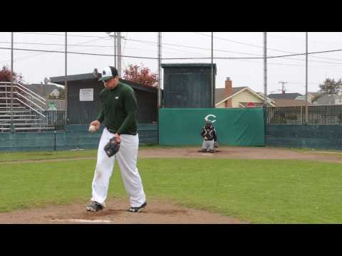 Riley Jackson Pitching Rear View #1