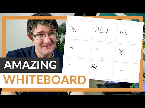 Amazing Online Whiteboard with Collaboration and its FREE!