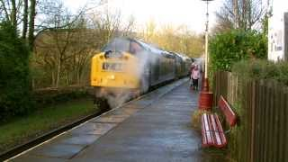 East Lancashire Railway 11.1.2014 - English Electric Day Class 37 40 50 55